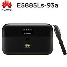 HUAWEI E5885Ls 93a Cat6 Mobile WIFI PRO2 6400Mah Power Bankแบตเตอรี่และRJ45 LAN Ethernetพอร์ตE5885 Router