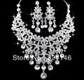 Poseer la fábrica hizo las borlas de cristal de joyería nupcial de boda rhinestone establece mejores regalos para la novia