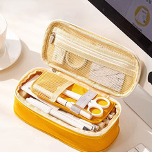 Large Capacity Pencil Pen Case Office College School Children Big High Storage Size Bag Pouch Holder Box Organizer Stationery все цены