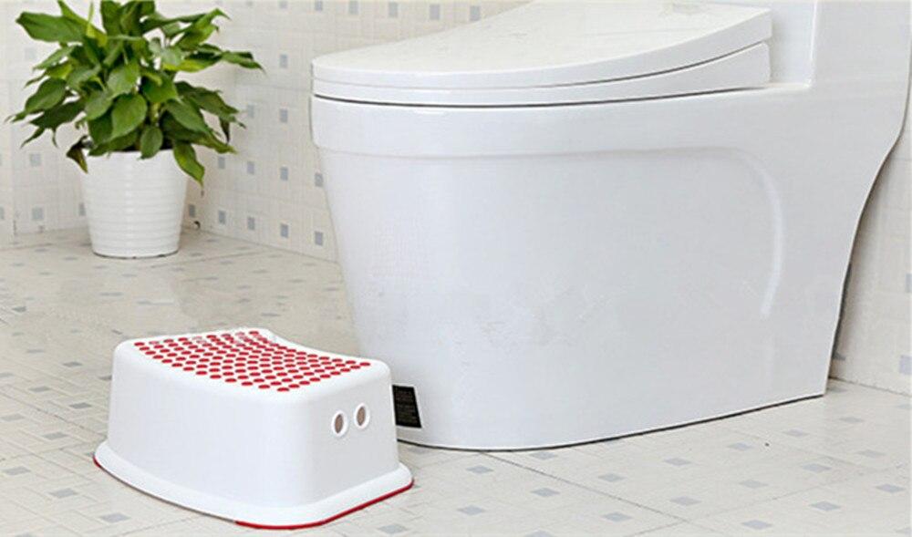 Multifunzione bambini sgabello bagno antiscivolo pedale passo pad