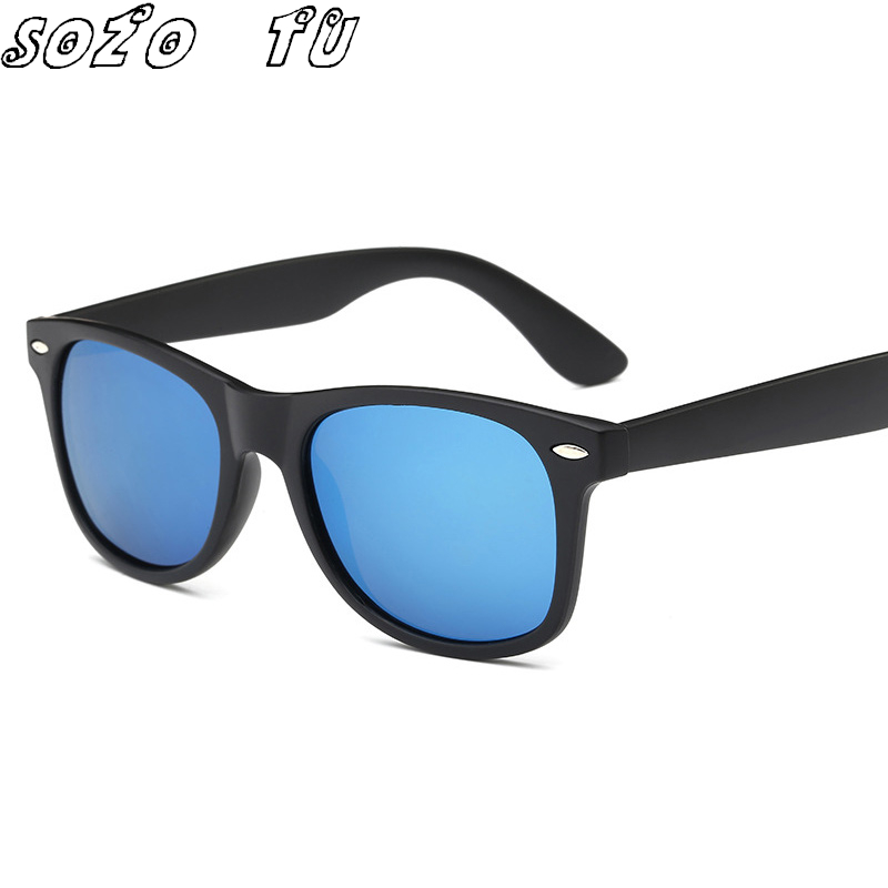 Square Sunglasses Brand Polarized Designer Driving Retro Shades Sun Glasses for Men ocul ...