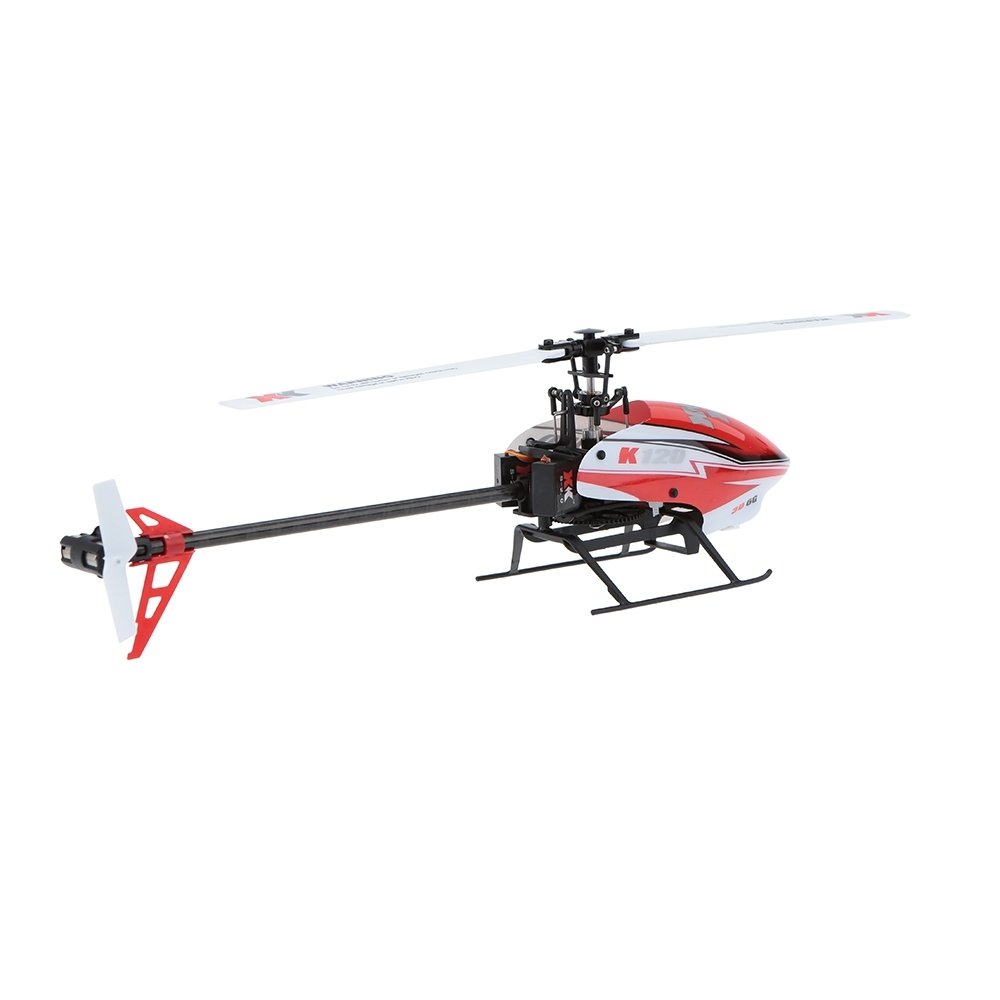RC Helicopters XK K120 2.4G 6CH 3D / 6G System Flybarless Brushless Motor Ready to Fly Remote Control Toys VS WLtoys V950