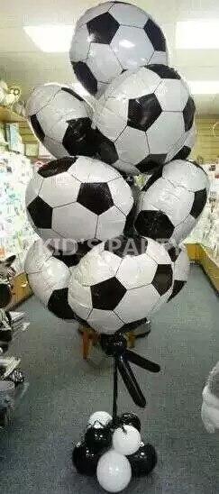 Us 1 75 3 Teile Los 18 Inch Fussball Ballons Folie Fussball Ballons Kinder Ballon Sport Balls Geburtstag Party Ballons Globos Helio Geschenke In 3
