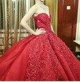 Майкл синко Вечерние платья Красный Милая Аппликация Бисероплетение Роскошные Великолепные Платья