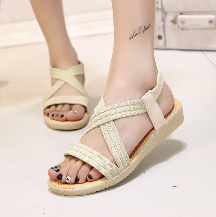 f1eff013f New Summer Women Sandals Bohemia Comfortable Ladies Shoes Beach ...