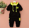 Kids Clothes Set Baby Boys Girls Clothes Newborn Suit Toddler Boys Clothing Long Sleeve Hooded Pants Children Casual Tracksuits