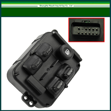 e2c Front Power Master Window Switch Center Console for 2005 2006 2007 Jeep Liberty OE# 56054002AA, SW5421, DSW-636