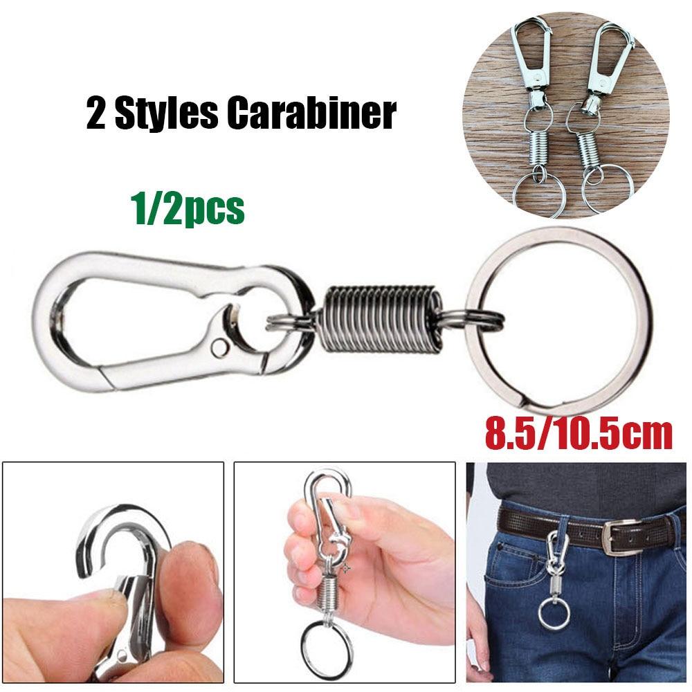 Anti-lost buckles Bicycle Bottle Holder Waist Belt Clip Carabiner keychain