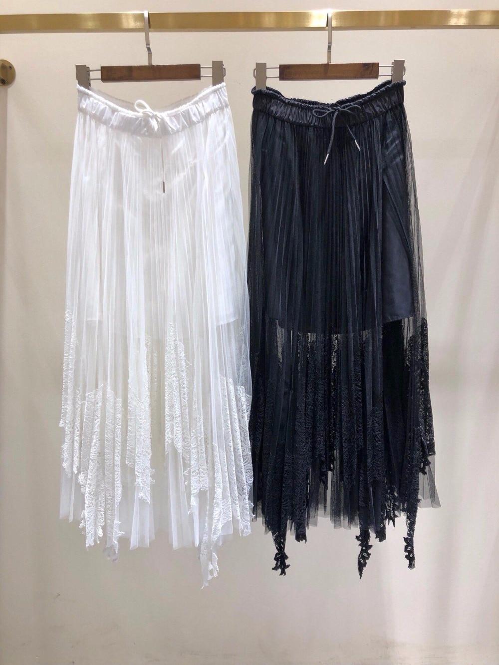 Mujeres 20 Lujo Patchwork Encaje Falda 2 Verano Camisa Las 2 Ddxgz3 2019 Color Nuevo De AFnIqfq