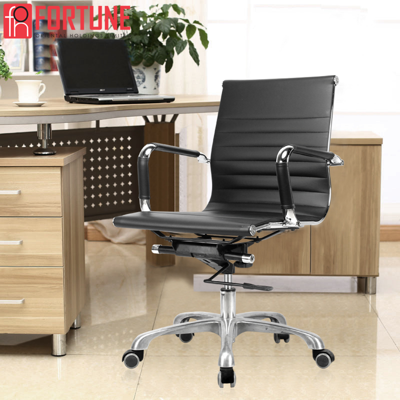 Office Chair Ergonomic Black PU Office Executive Chairs Commercial Furniture Computer Chair Comfortable Gaming Chair Ship In USA(China)