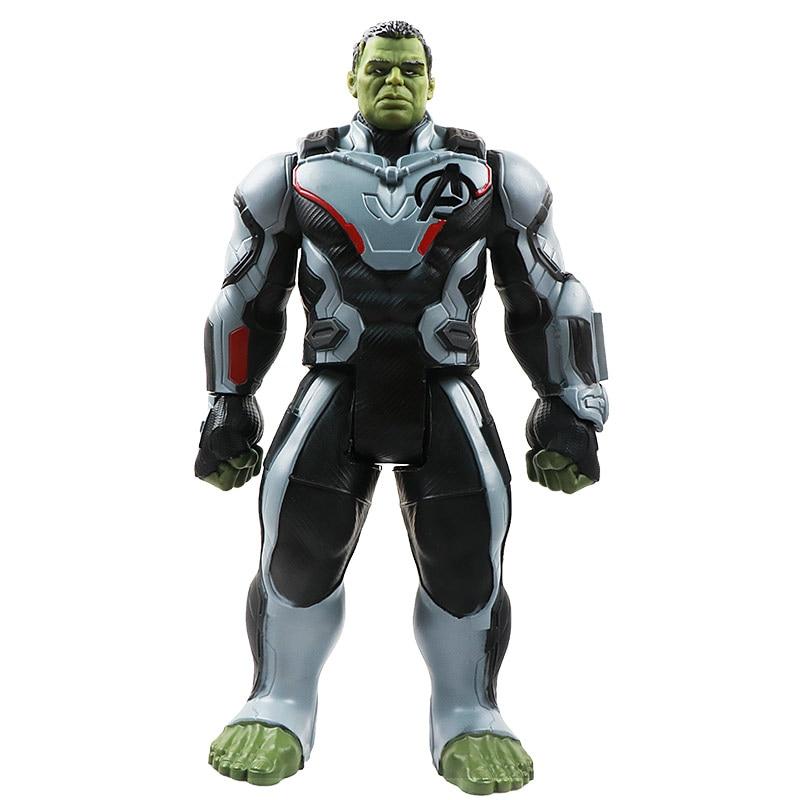 30 см Marvel Мстители эндшпиль танос Человек-паук Халк Железный человек Капитан Америка Тор Росомаха Веном Фигурка Игрушки Кукла Детская - Цвет: New Hulk no box