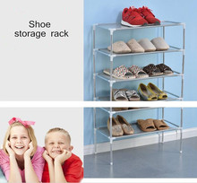 цена на Multilayer Non-woven Shoe Display Shelf bedroom Shoes Storage Cabinet Rack Organizer Assemble Shoe Cabinet DIY simple shoe rack