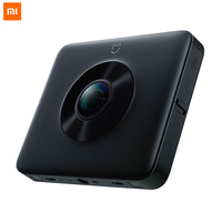 Xiao mi jia Экшн камера mi 3,5 Panora mi c Camaras 23.88MP сенсор водонепроницаемая Спортивная камера К Запись видео Wi Fi Anti shake 360 приложение