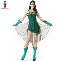Poison Rattan Women Sexy Dress Ivy Cosplay Halloween Costume Adults Party Fancy Costumes Female Angel Uniforms