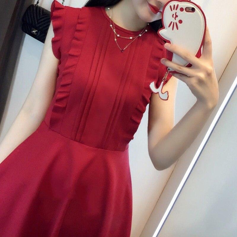 00c2029f7 AfeiTony Vermelho de Alta Qualidade Vestido de Enfermagem para A Gravidez  Mulher Curto Verão Vestidos de