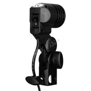 Image 4 - Godox Lh 01 Ac Slave Işık E27 Soket w/şemsiye tutucu Softbox Işık Standı Montaj