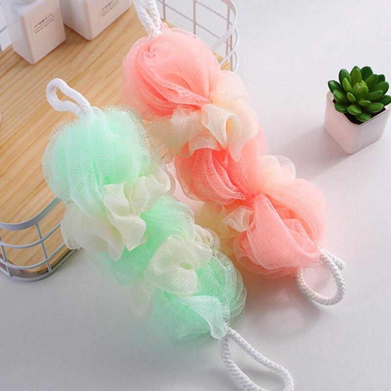 Colorful Body Wash Bath strip Bath Sponge Bath Washing body Tool Bathroom Accessory 48*8cm