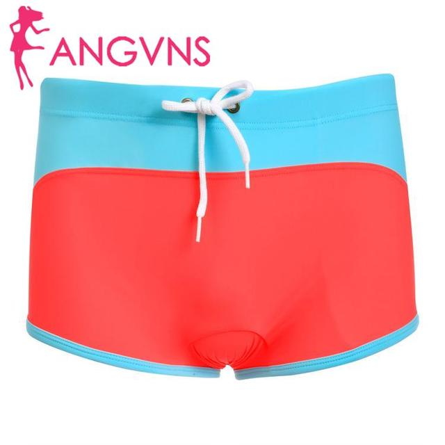None Swimwear Trunks Boxers Beach Swimming Men Underwear New Sexy Shorts
