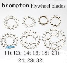Bicycle Cassette Sprocket Cog for Brompton re-equip 2 speeds 3 speeds 11T-32T steel