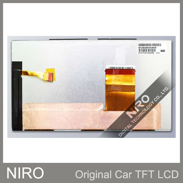 Автомобильный TFT ЖК-дисплей мониторы по C070VW05 V1 ЖК-дисплей Экран дисплея