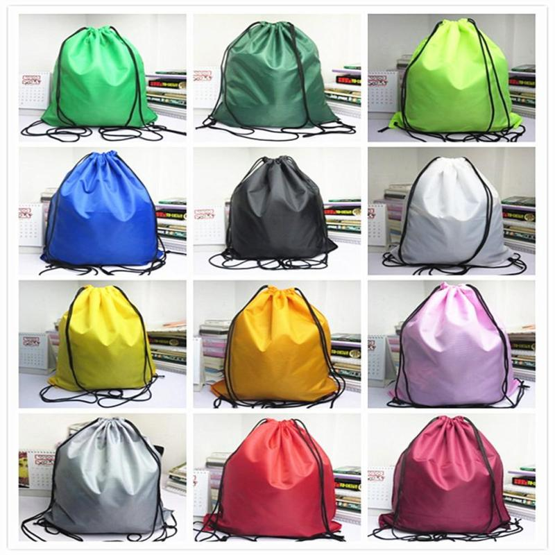 2981d268f7a2 Book School Drawstring Colorful Bag Sport Gym Swim PE Dance Shoe Backpack W5