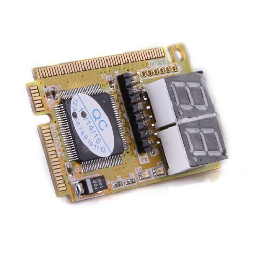 CAA-Diagnostic Post Card USB Mini PCI-E PCI LPC PC Analyzer Tester