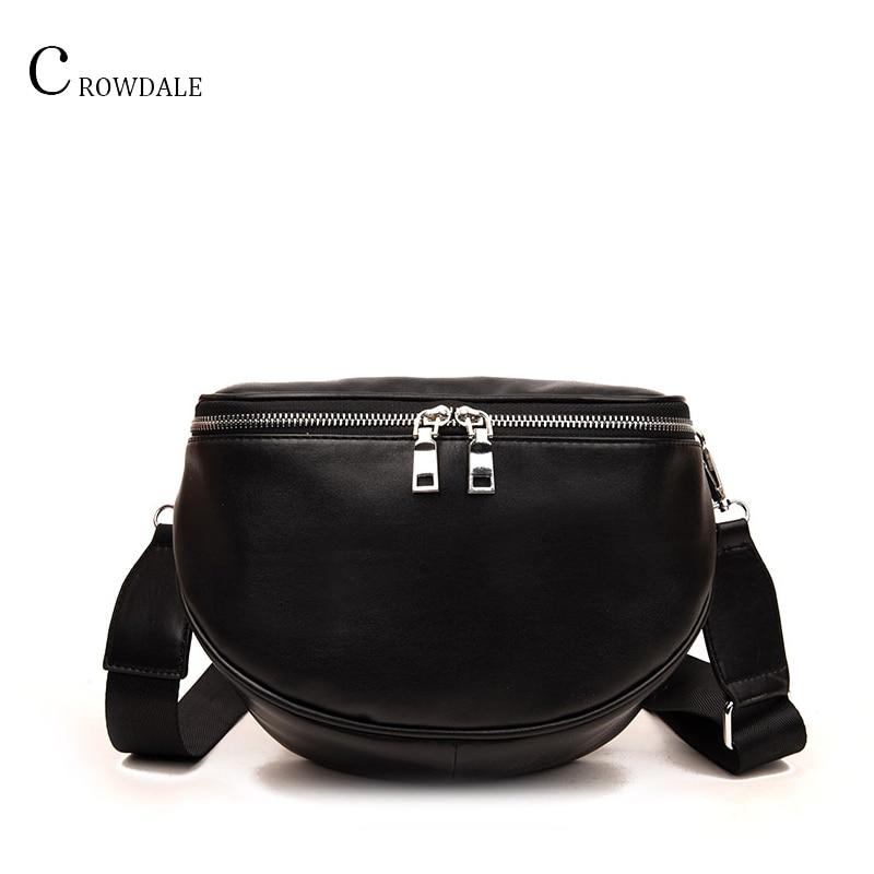 CROWDALE Crossbody-Bag Shell Messenger-Shoulder-Bag Women New-Arrival Fashion Pu