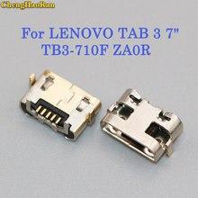ChengHaoRan 2-10PCS For LENOVO TAB 3 7 TB3-710F ZA0R Mini Micro USB jack Charging Port Charger Connector scoket Dock plug