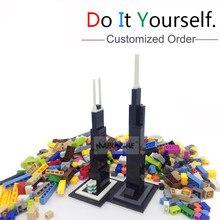 MARUMINE Block toy per ordine personalizzato creatore classico blocchi educativi fai da te