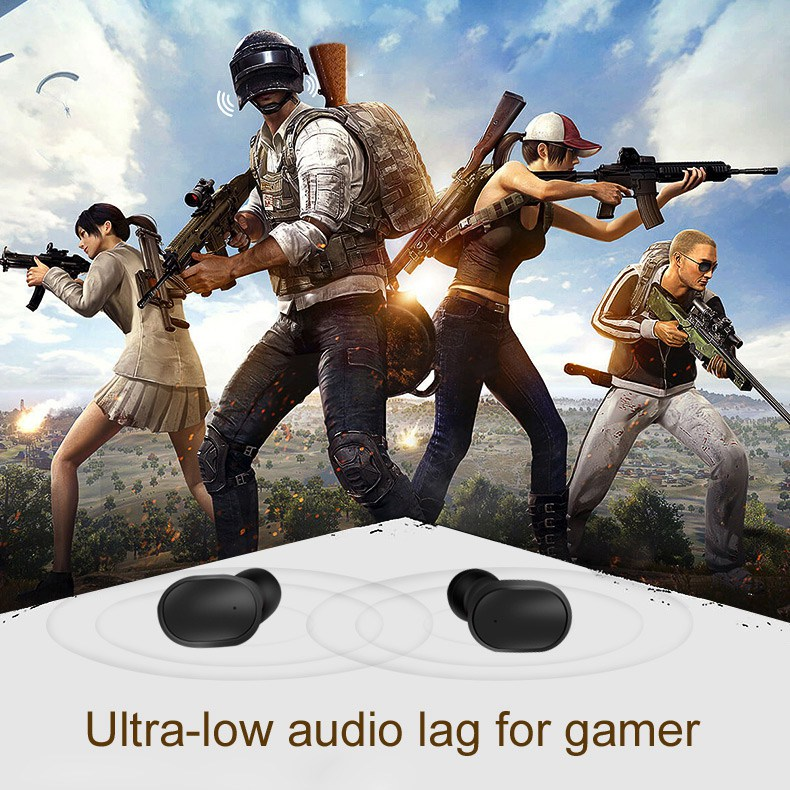TWS Wireless Bluetooth Earphone For Redmi Airdots Earphones Wireless Earbuds 5.0 Headsets auriculares Ouvido Draadloze Oordopjes