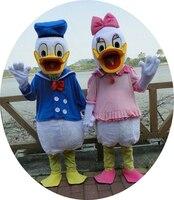 Высокое качество «Дональд Дак» плюш талисмана для праздничных и праздничные атрибуты Disfraces нарядное платье аниме косплей