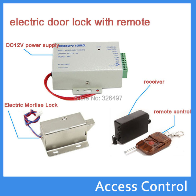 Mini Electric Door Lock Small Cabinet For With Remote And Supply