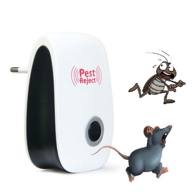Multi-Purpose Electronic Ultrasonic Mosquito Killer Reject Bug Mosquito Cockroach Mouse Killer Repeller