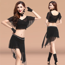 Bellydance oriental Belly Indian gypsy dance dancing costume costumes clothes bra belt chain scarf ring skirt dress set suit 161