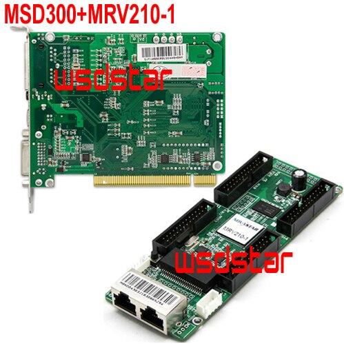 MSD300 светодиодная карта отправки + MRV210-1 светодиодная карта получения полноцветная светодиодная система управления P4 P5 P6 P8 P10 P12 светодиодный ...