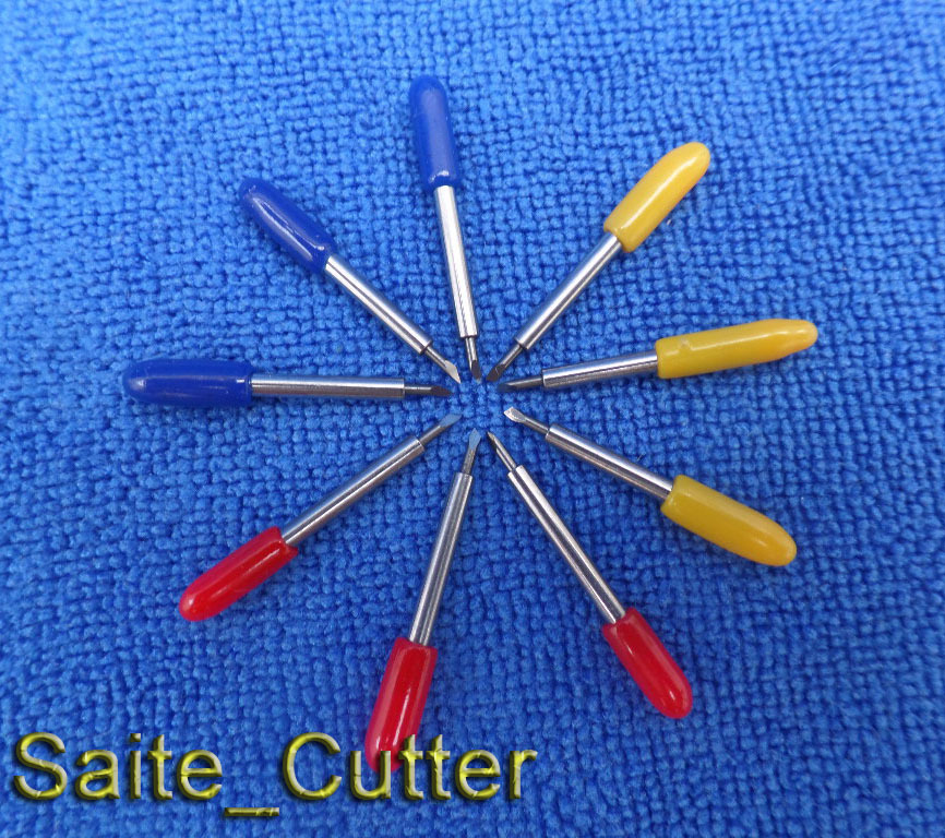 New 12 PCS 60 Degree cutting blade for Redsail Vinyl cutter and cutting plotter