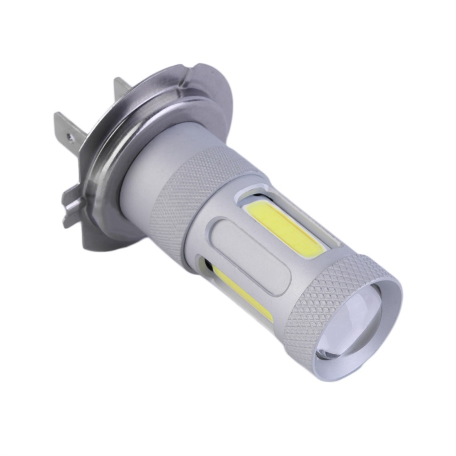 1pc Big Promotion H7 80W High Power COB LED Car Auto DRL Driving Fog Tail Headlight Light Lamp Bulb White 12-24V 12v led light auto headlamp h1 h3 h7 9005 9004 9007 h4 h15 car led headlight bulb 30w high single dual beam white light