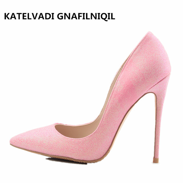 b4434c9bd483 Pink Shoes Woman Pointed Toe Stiletto Womens Heels Wedding Shoes Sexy High  Heel Shoes Women FS-0108