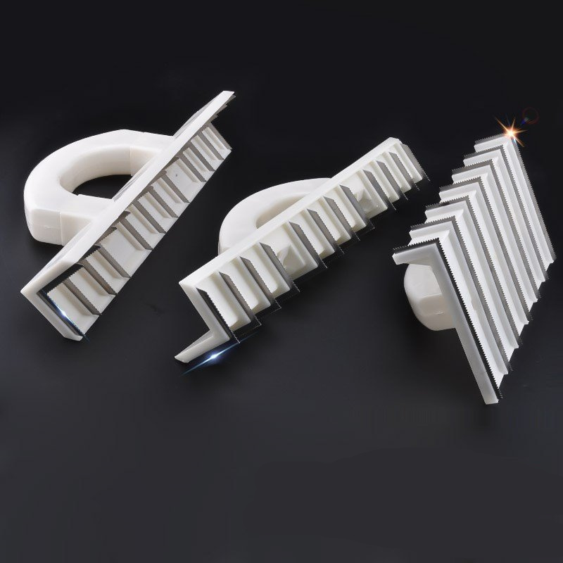 Right Angle Yin Yang Planer Sanding With Handle Stainless Steel Putty Knife Paint Scraper Blade Wall Plaster Construction Tools