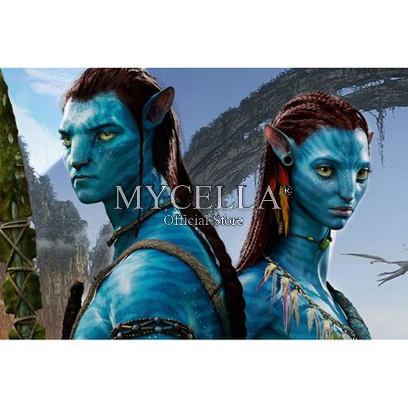 "Avatar 2 2014 Movie: Avatar Diamond Painting Full Square""Cartoon Film Movie"