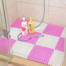 1 Pcs Anti Bacterial Bath Mat Shower Non Slip With Massage Function And