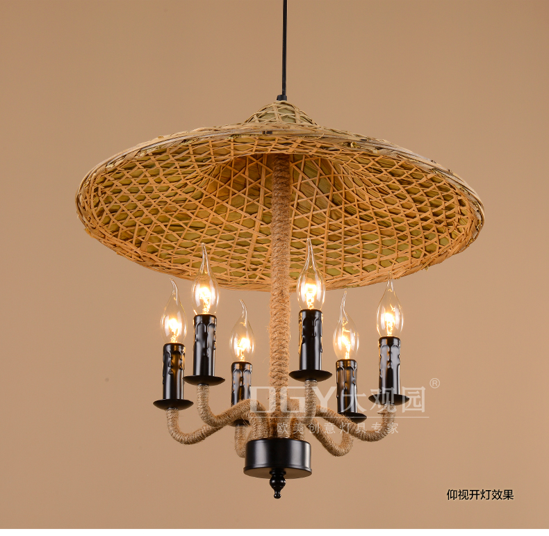 Bamboo Southeast Chinese Hot pot shop pendant lamps retro Farmhouse Hotel Cafe Restaurant bamboo pendant lights rope ZA zb4 chinese bamboo pendant lights character living room restaurant aisle hotel club hot pot chinese creative pendant lamps za