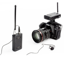 Saramonic SR-WM4C Camera Wireless Lavalier Microphone System Transmitters and Receivers for DSLR &Camcorder