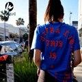 Moda 2016 Camiseta Para Hombre de Hip Hop Streetwear Camiseta Roja de Manga Corta Del O-cuello T Shirt Justin Bieber Ropa S-2XL