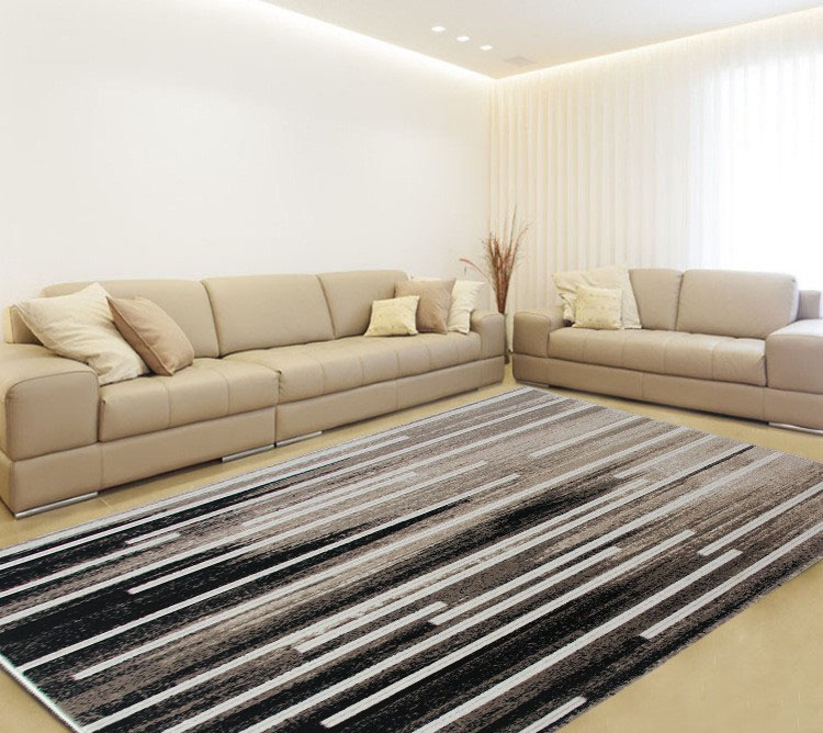 Washable Area Rugs Living Room: Aliexpress.com : Buy YOOSA Modern Strip Nordic Carpets
