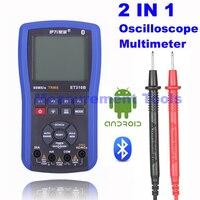 M132 ET310B 2 в 1 Беспроводной bluetooth Сфера метр 20 мГц Ручной осциллограф + True RMS Цифровой мультиметр лучше, чем ET201