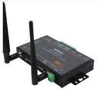 Wi Fi модуль двойного Порты и разъёмы последовательным устройством сервер RS232 RS485 RS422 к Ethernet Wi Fi 4G 3g GPRS сети конвертер IoT Новый