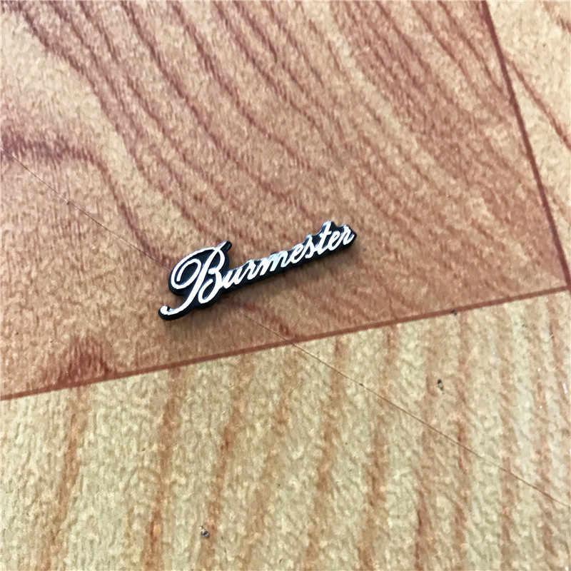4X Burmester 車のステッカーオーディオスピーカーステッカーカースタイリング内装装飾 29X8 ミリメートルアクセサリー