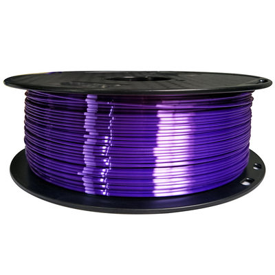 3D Printer Filament PLA Like Silk 1.75mm  0.1KG/1KG Silk-like Texture Material Wire Material  Purple Consumables