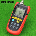 KELUSHI TBM-70A Fibra Óptica Power Meter Tester Medidor de Potência Óptica Testador FC/SC Conector do Medidor de Energia de Luz